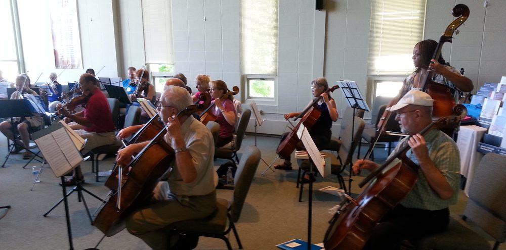 Chesapeake Scor! orchestra.